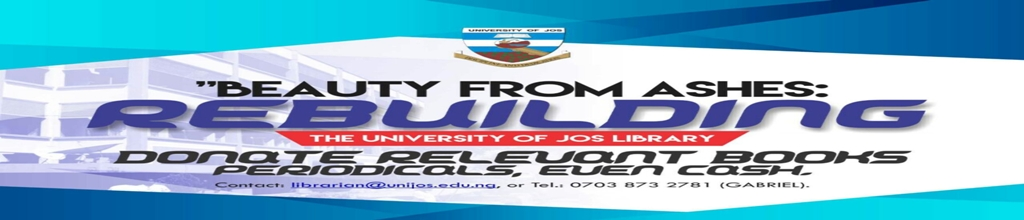 UNIVERSITY OF JOS OPERATION BEAUTY FROM ASHES