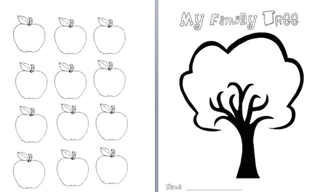 Making family trees in Grade 1