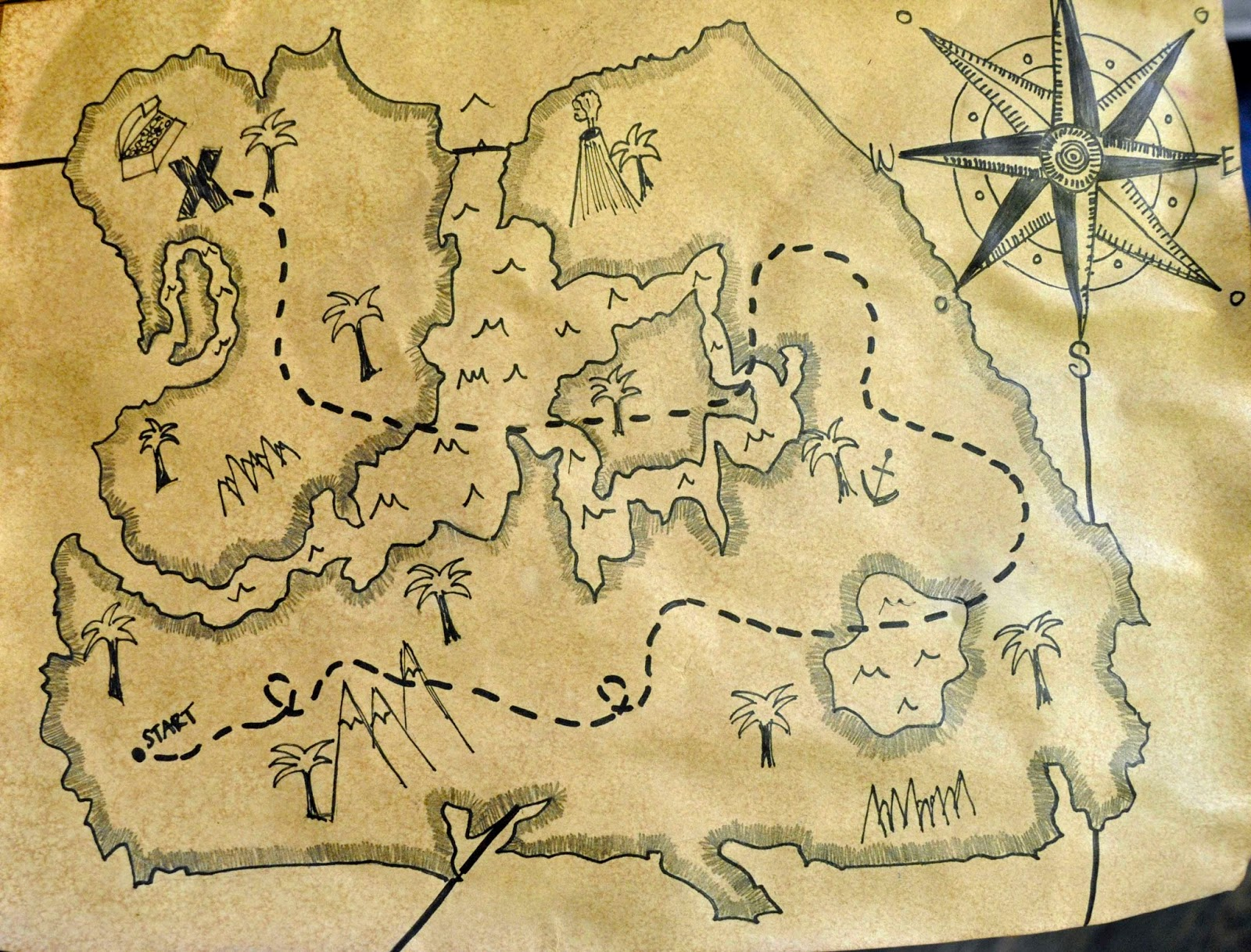 simple treasure maps vintage - photo #44