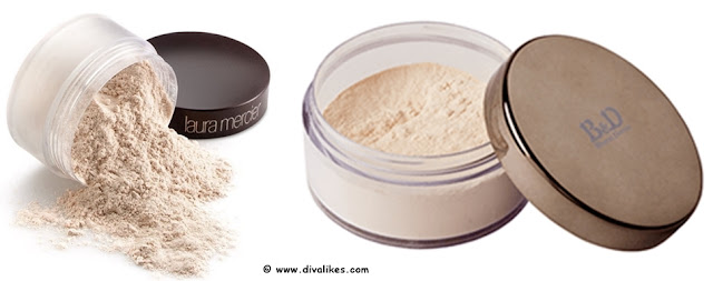 Laura Mercier Loose Setting Powder Drugstore Dupe
