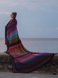 Crochet a Mosaic Afghan Crochet pattern