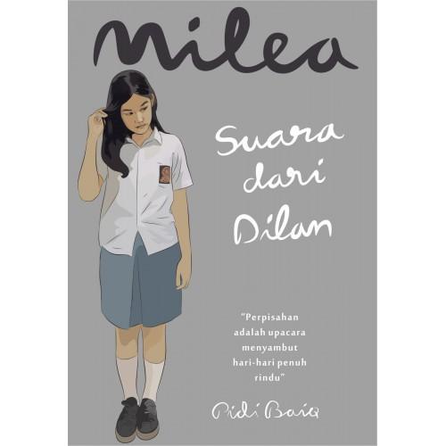 """SEBUAH BLOG: Resensi Novel MILEA """"Suara dari Dilan"""" Karya ..."""