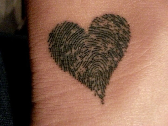 ♥ ♫ ♥ best friend fingerprint  ♥ ♫ ♥