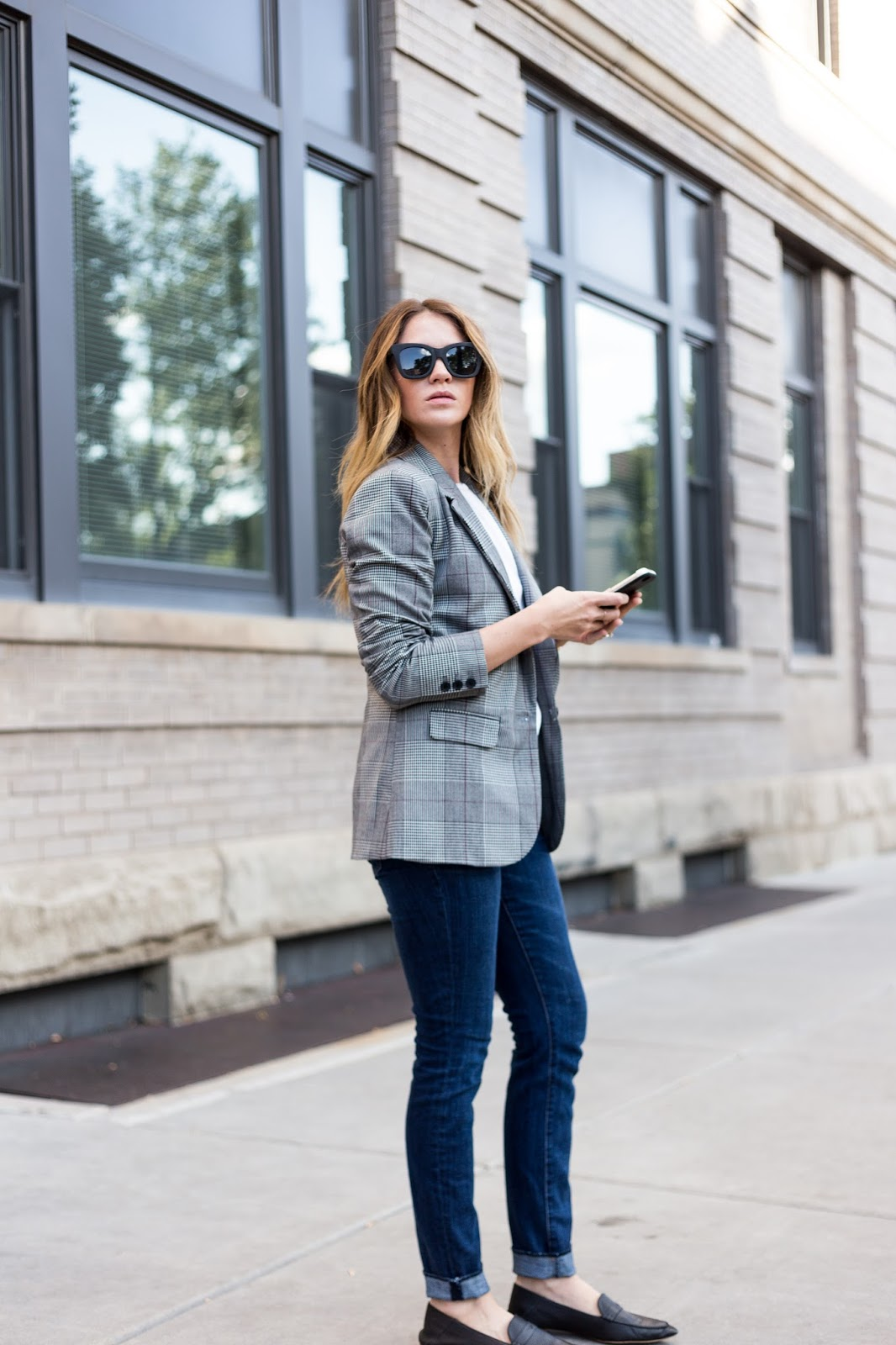 Boyfriend Blazer by Colorado fashion blogger Eat Pray Wear Love