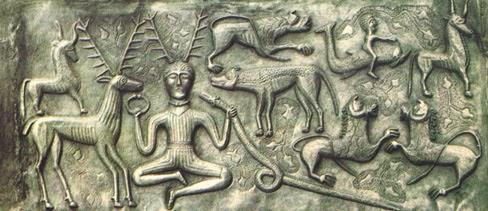 Dio Cernunnos- immagine web