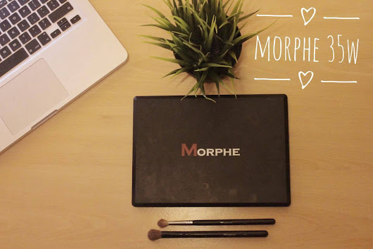 WATCH: MORPHE 35W | Makeup Tutorial and Review