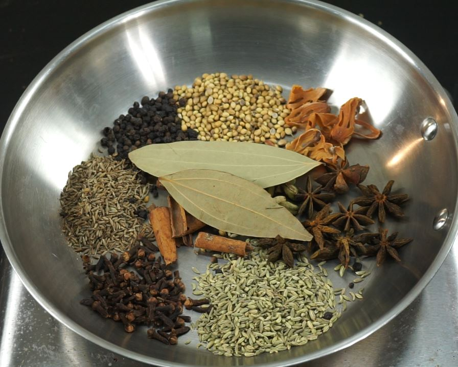 Garam masala powder recipe steffi 39 s recipes - Garam masala recette ...