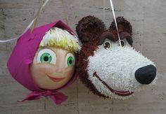 Piñatas Masha y el Oso