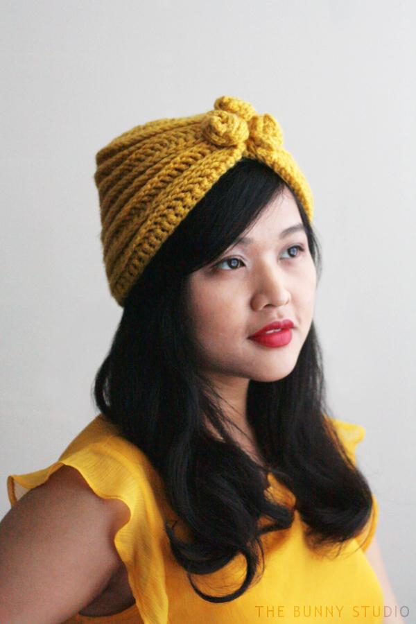 The Bunny Studio Free Crochet Pattern Alma Hat