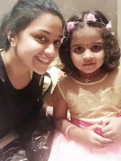 Keerthy Suresh with Cute Baby