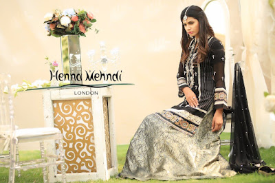 Black Pearl & Diamante Embroidered Outfit