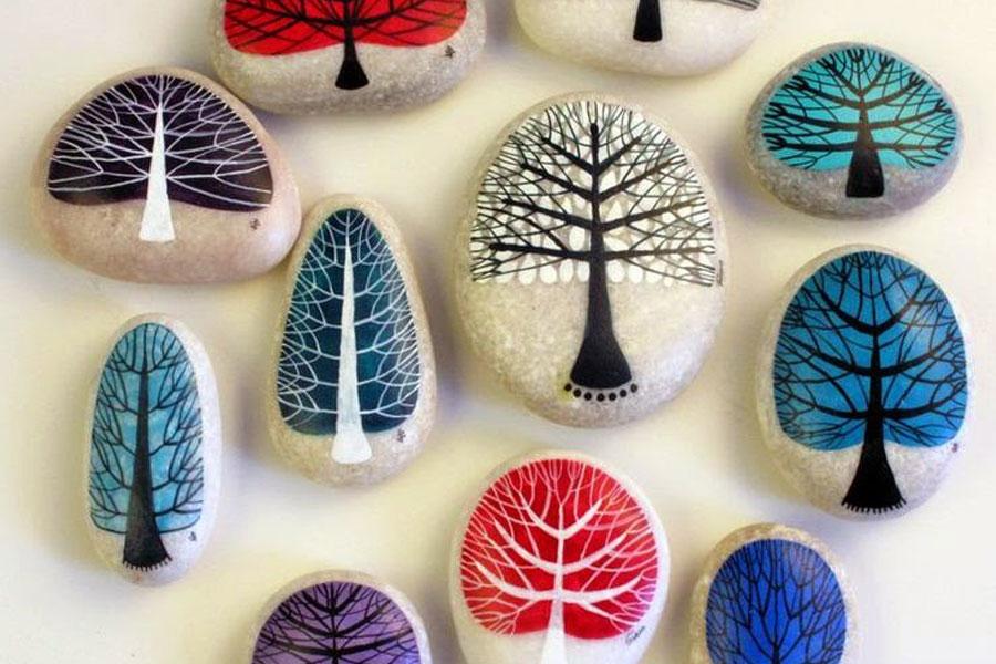 10 dibu ideas #diy con piedras (y alguna cosa más)