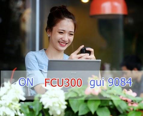 Đăng ký 3G gói FCU300 Fast Connect của Mobifone