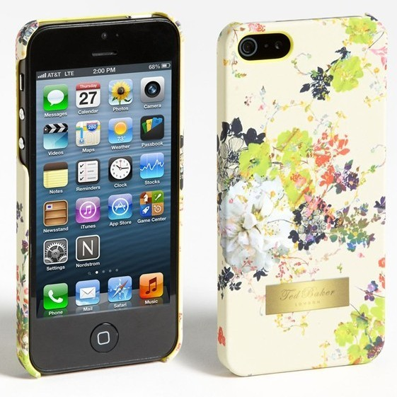 4b9e3979c633 The Spring   Summer 2013 Collection of Ted Baker iPhone 5 cases brings you  a choice of bright