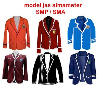 model jas almameter smp,sma
