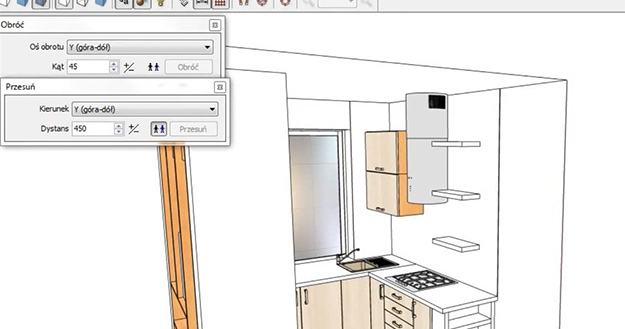 Projekt kuchni w programie PRO100 - Blog o projektowaniu mebli