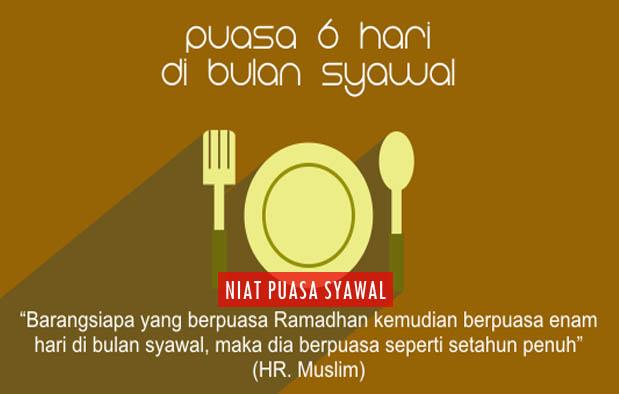 Niat Puasa Enam Hari di Bulan Syawal dan Keutamaannya