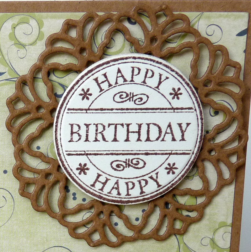 LOTV Happy Birthday stamped Sentiment