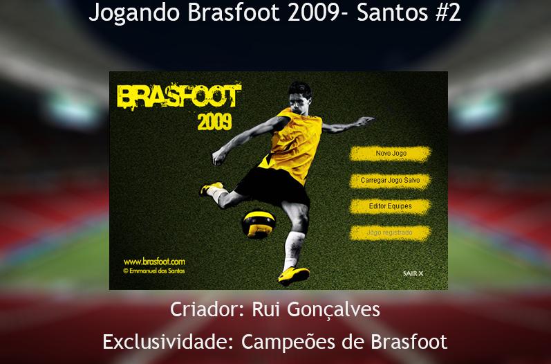 brasfoot 2009 atualizado e registrado