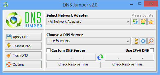 dns jumper v2.0 guide