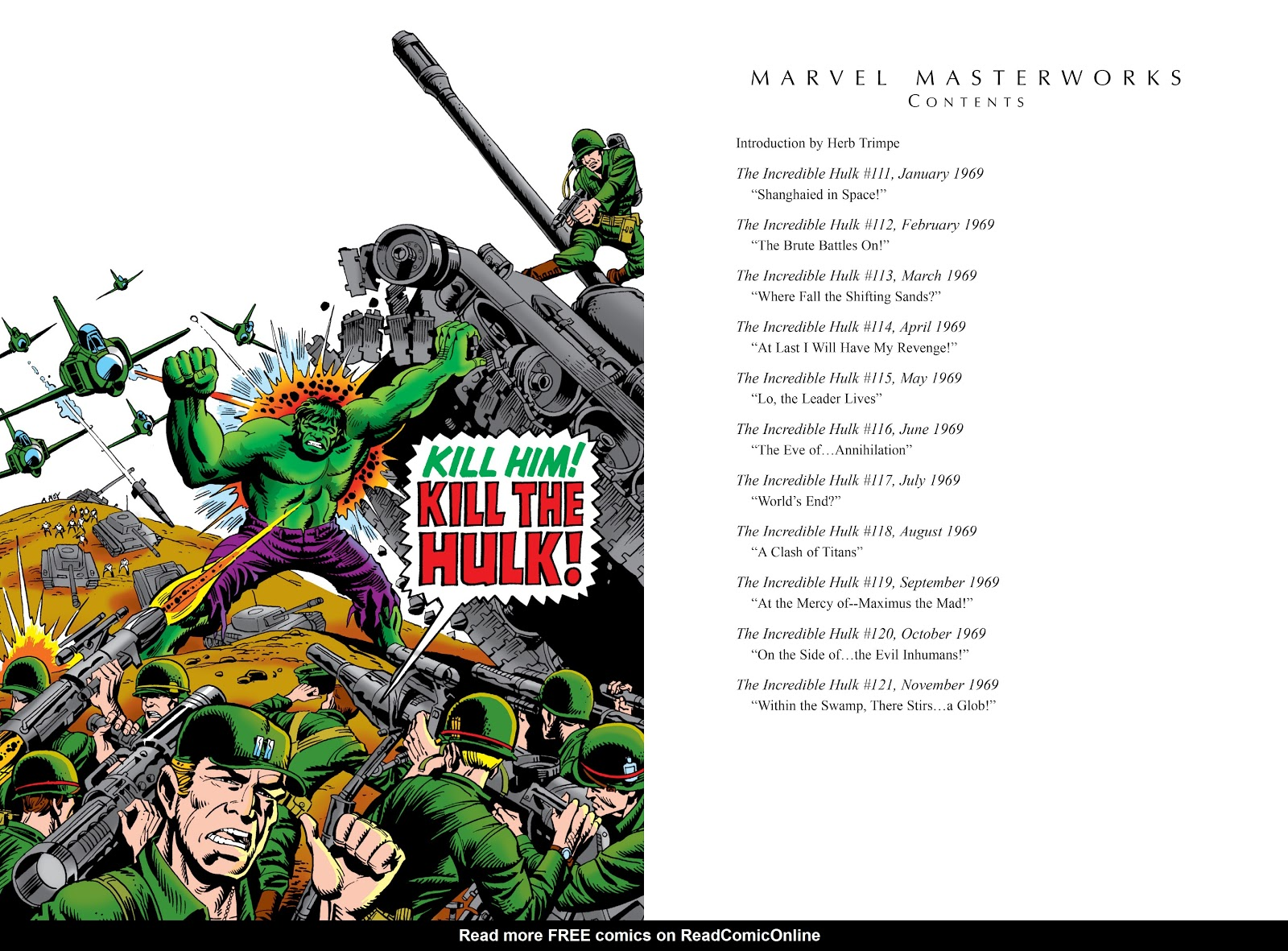 Read online Marvel Masterworks: The Incredible Hulk comic -  Issue # TPB 5 (Part 1) - 4