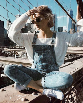 outfits tumblr casuales con overol