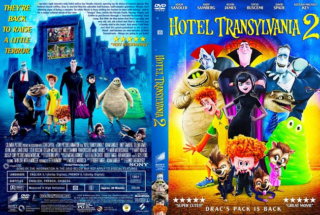 Hotel Transilvania 2 – Castellano, Inglés