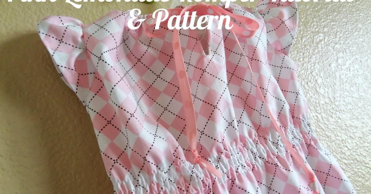 Pink Lemonade Romper TUTORIAL!!! & Pattern - GYCT Designs