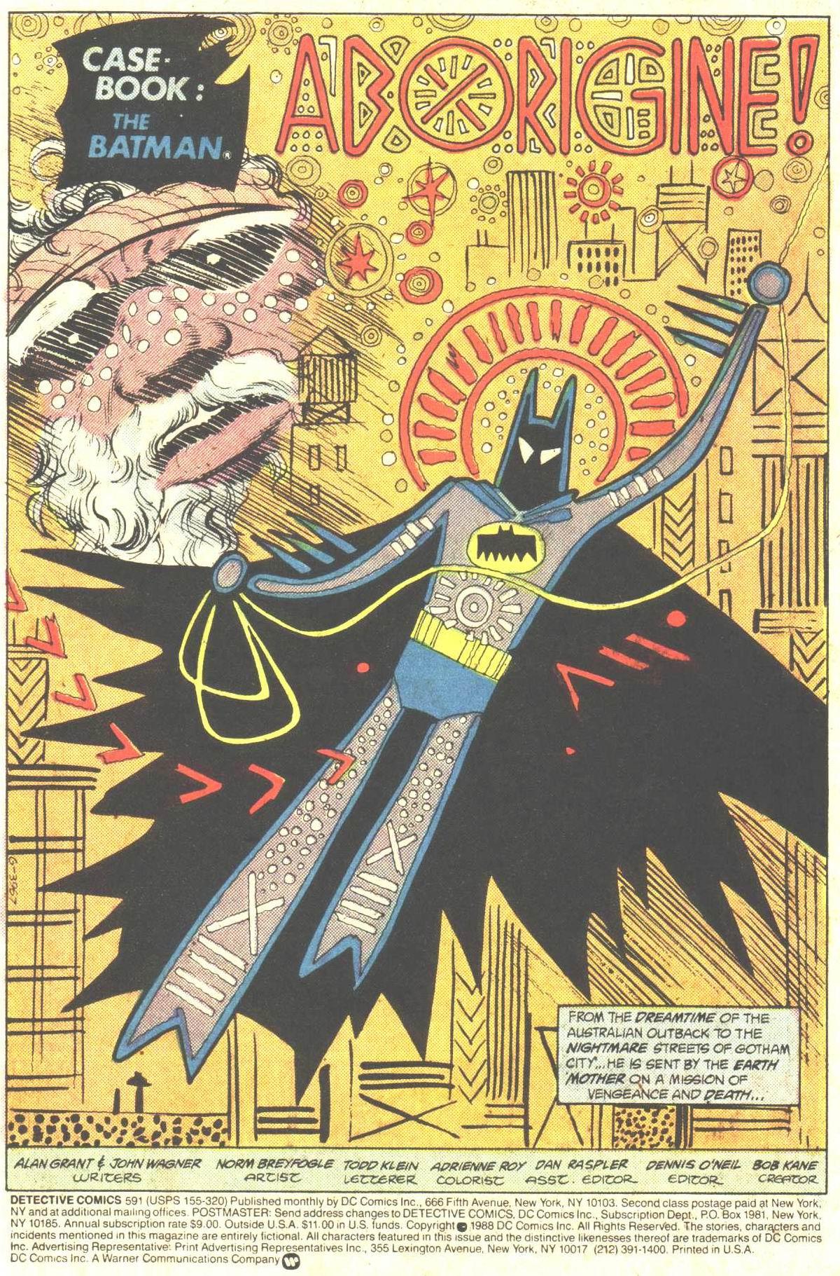 Detective Comics (1937) 591 Page 2