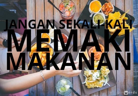 Mau Rezeki Berkah Bersyukurlah Atas Makanan Kita