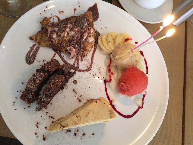 brownie, dessert, Leicester, crepe, cheesecake, ice cream