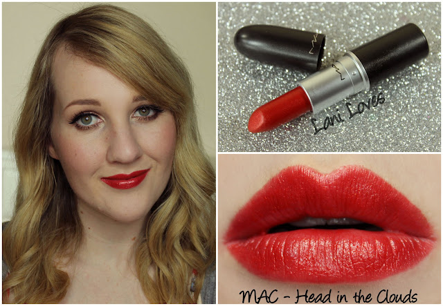 MAC Head in the Clouds lipstick swatch