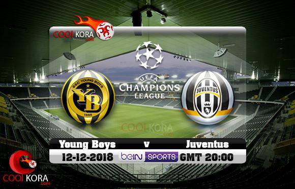 مشاهدة مباراة يونج بويز ويوفنتوس اليوم 12-12-2018 في دوري أبطال أوروبا