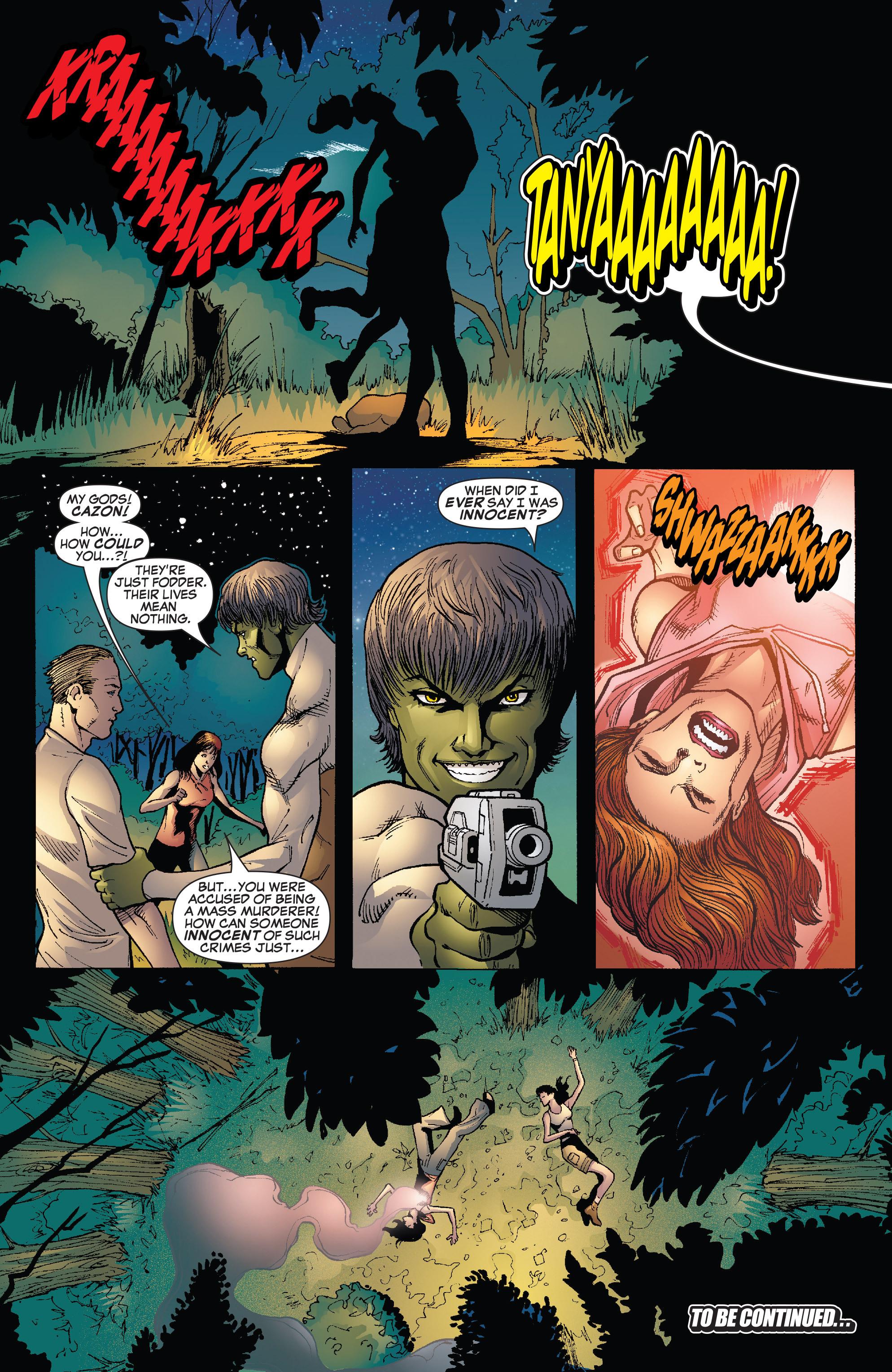 Read online She-Hulk (2005) comic -  Issue #25 - 24