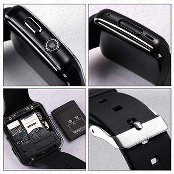 PTron Rhythm Curved Bluetooth Smart Watch back side