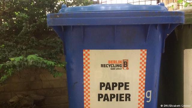ماذا يعني اختلاف ألوان حاويات القمامة في ألمانيا؟