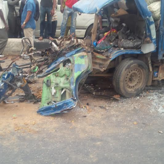 Graphic Photos From The Fatal Accident In Ikorodu This