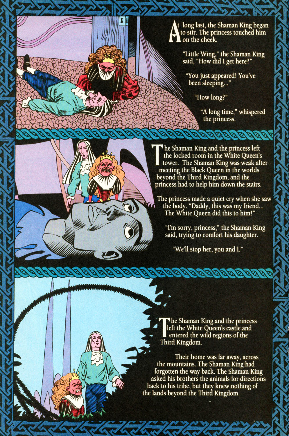 Read online Animal Man (1988) comic -  Issue #87 - 12