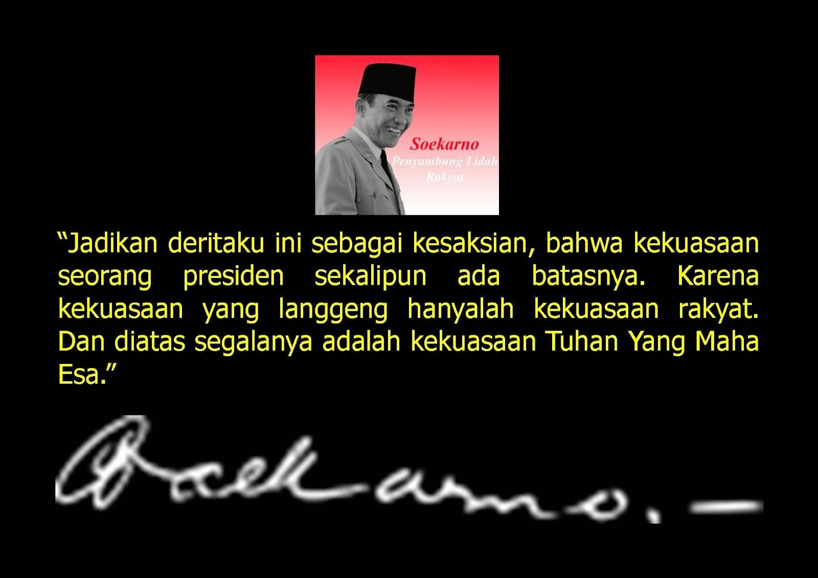 Kata Motivasi Bijak dari Soekarno | Komunitas Indahnya Berbagi