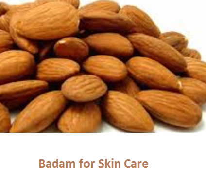 Health Benefits of Almond or Badam for Skin Care