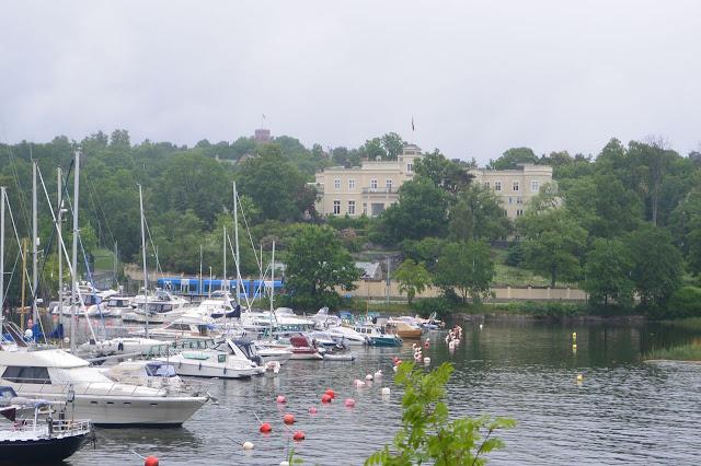 Stockholm :  le palais-musée du Prince Eugène sur l'île de Djugarden