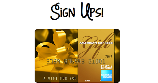 $100 American Express Gift Card Bloggers Opp