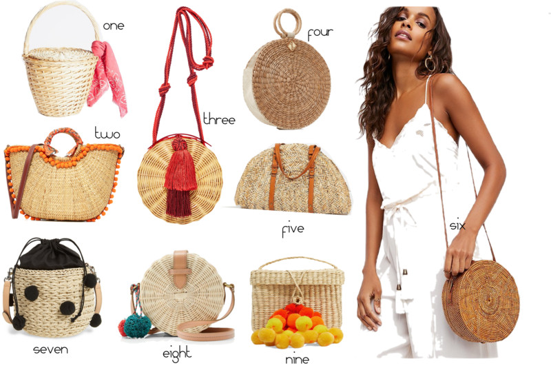 Summer Must Have Straw Bags