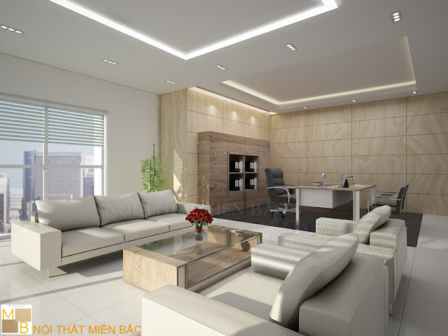 Phong thủy trong thiết kế nội thất phòng giám đốc - H2