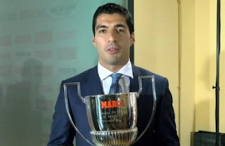 Luis Suárez won his first Pichichi Trophy.