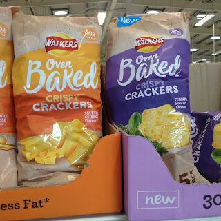 Walkers Oven Baked Crispy Crackers Italian Herbs