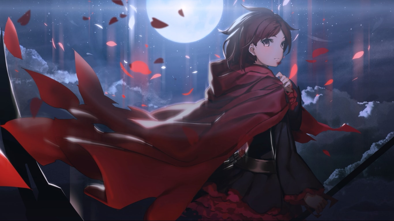 Download RWBY Anime Wallpaper Engine FREE  Download Wallpaper Engine Wallpapers FREE