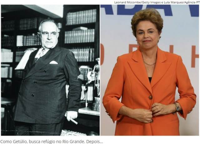 O Caminho de Dilma