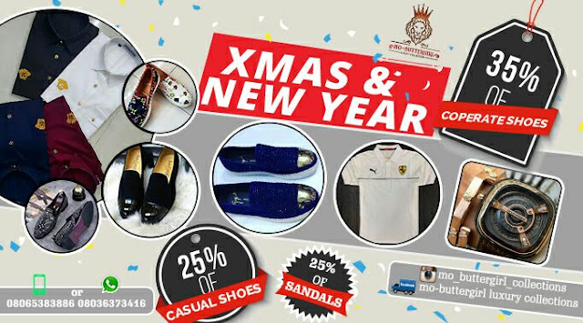Xmas & New Year Prices Slash At Mo-Buttergirl Luxury Collections
