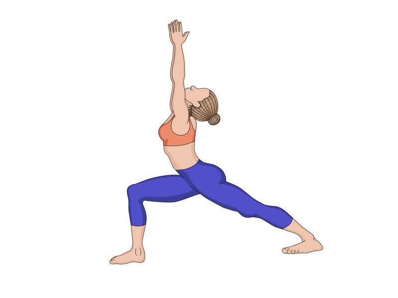 Rückenschmerzen: Diese drei Yoga-Übungen helfen - tiefer Ausfallschritt